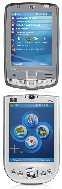 Компания HP обновила свою линейку iPAQ Pocket PC