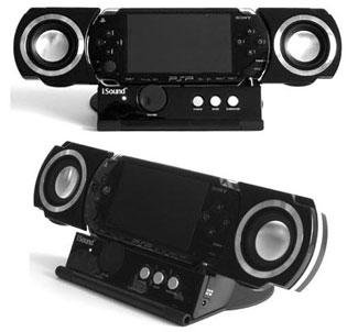 iSound PSP Pro – новая домашняя док-станция для портативной игровой консоли PSP
