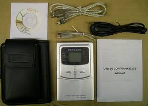 Внешний жесткий диск на 40 Гб для PSP?