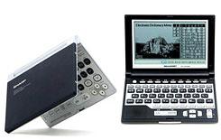Новые электронные словари Sharp с поддержкой MP3