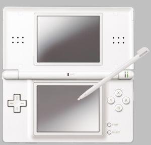 Новая игровая приставка Nintendo DS Lite