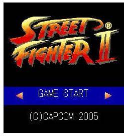 Игра Street Fighter II для мобильных телефонов