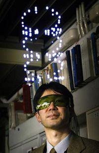 В Японии разработан по-настоящему трехмерный проектор