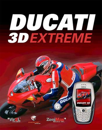 Мотогонки Ducati для телефонов. Теперь в 3D