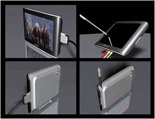 Мультимедиа-плеер с тачскрином Acer MP-500