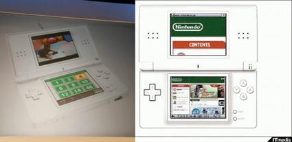 Nintendo DS теперь с браузером и ТВ-тюнером