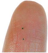 Hitachi представила RFID-чип размером 0.15 мм
