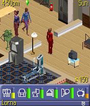 Sims 2: виртуальная жизнь в мобильном телефоне