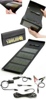 Складная портативная солнечная батаея от Sunling