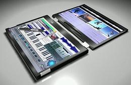 Canova — ноутбук с двумя сенсорными экранами