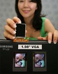 Миниатюрный экран с VGA-разрешением от Samsung