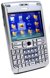 Смартфон-лопата Nokia E62 для любителей пописать