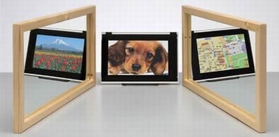 При изменении угла обзора меняется и изображение на экране