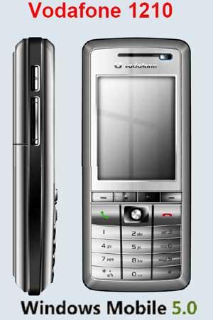 Стальной Vodafone v1210 — детали и фото