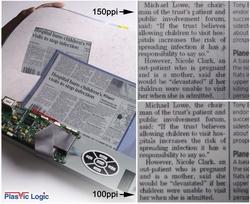 Гибкая электронная бумага к 2008 году