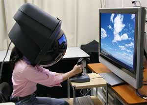 Огромный шлем покажет все 360 градусов