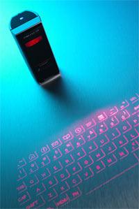Еще одна лазерная клавиатура