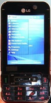 Шоколадный коммуникатор LG KC1 поддерживает WiMAX
