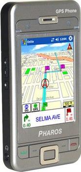 Настоящий GPS Phone от Pharos