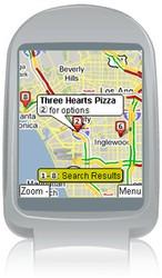 Телефонный Google Maps с поддержкой GPS