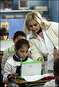 Intel поддержит «ноутбук каждому ребенку»