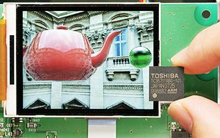 3D-процессор Toshiba для быстрых телефонов
