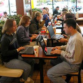 McDonald's становится крупнейшим WiFi-провайдером