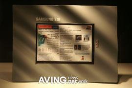 OLED-дисплей Samsung с разрешением 800х480 пикселей