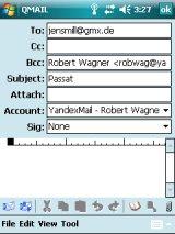 Статья на Ладошках: работа с почтой в Windows Mobile