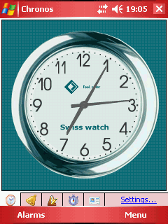 Chronos Alarm Clock v4.3 (PocketPC)