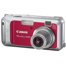 PowerShot A460 red